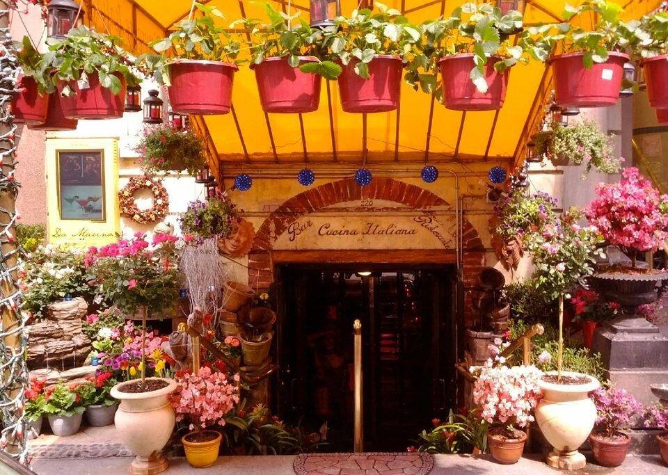 Restaurante italiano Da Marino, e Nova Iorque