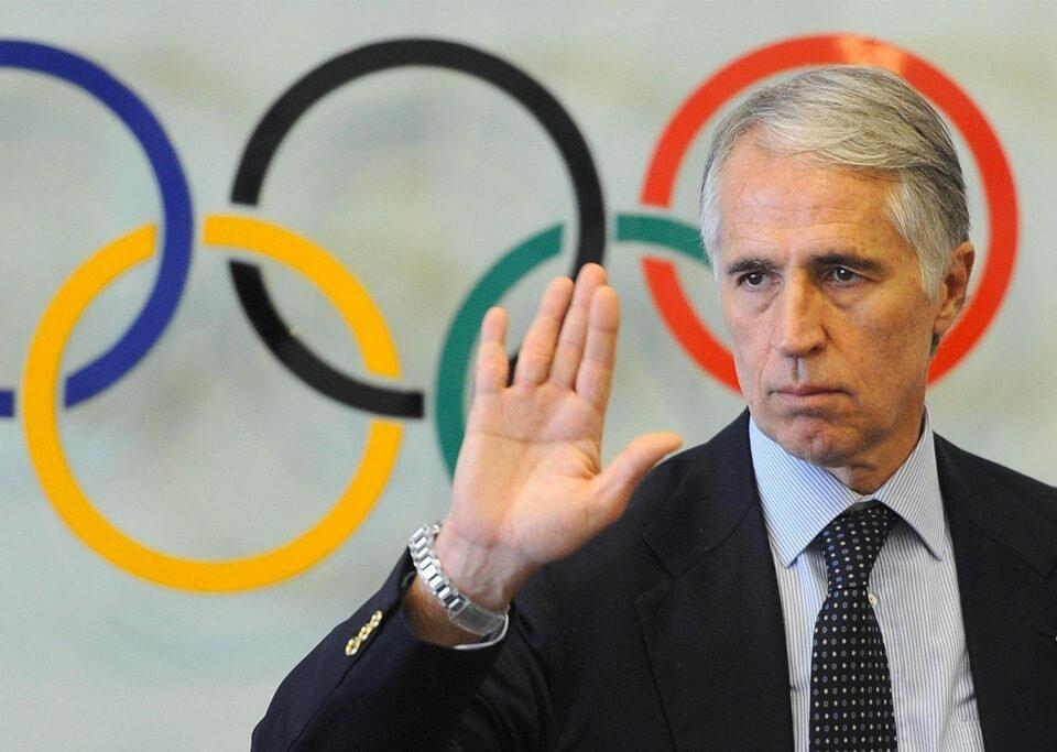 Presidente do Comitê Olímpico Italiano, Giovanni Malago
