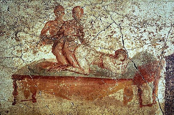 A domus dos Vettii tem os principais afrescos eróticos de Pompeia. Foto: Ansa