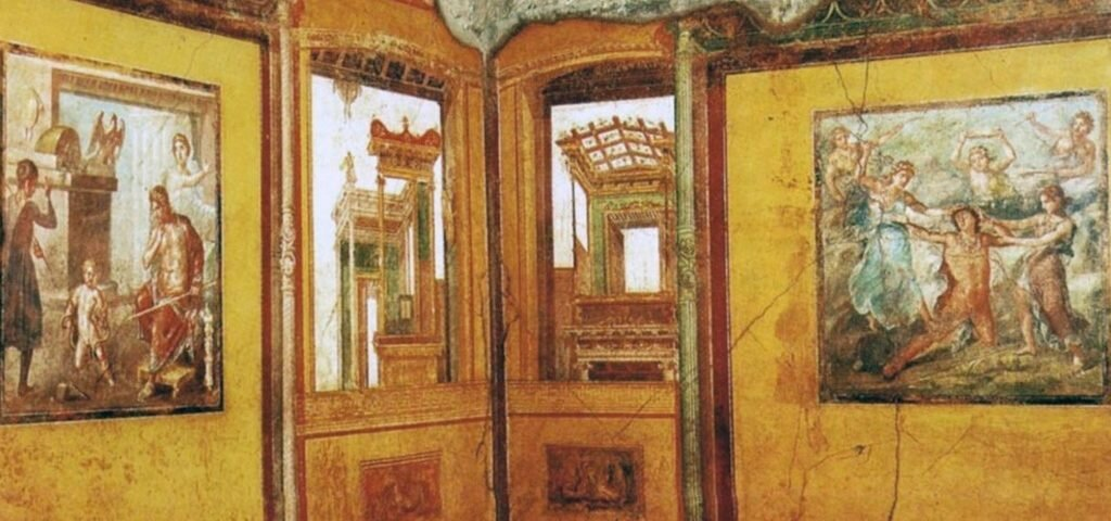 A Casa dos Vettii é uma das mais célebres e luxuosas residências da antiga cidade romana de Pompeia. Foto: reprodução