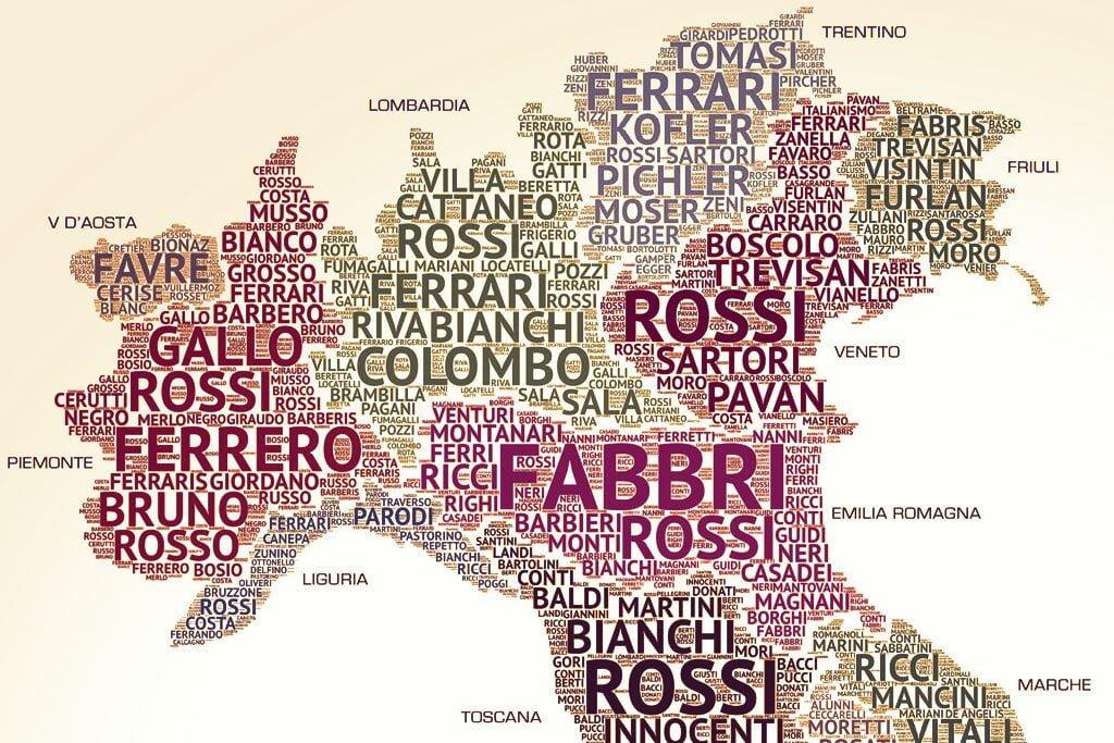 sobrenomes italianos