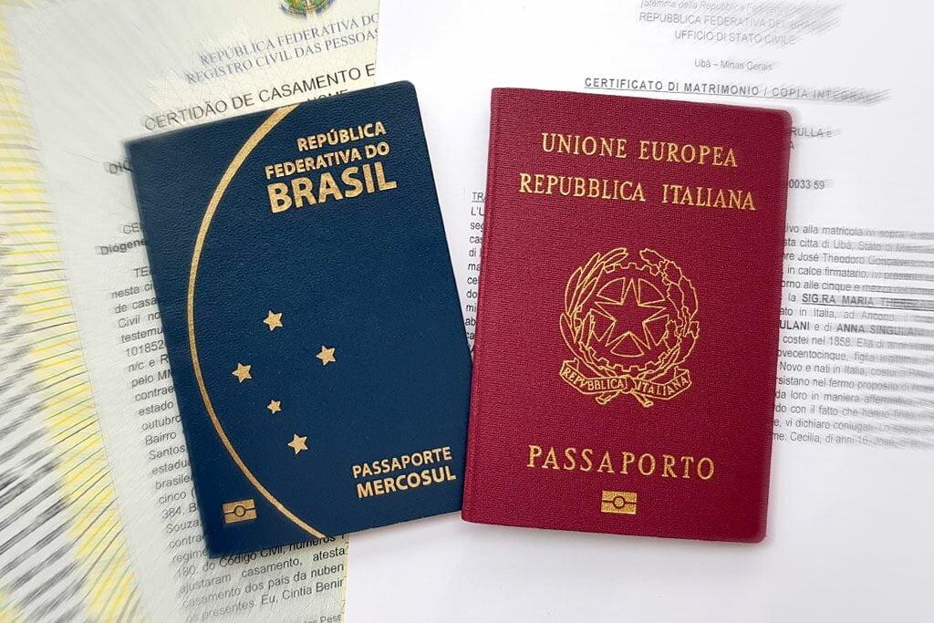 Teste italiano naturalização