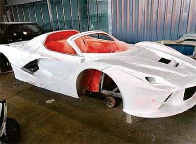 bcf795d8a Em São Paulo, grupo fabricava Ferraris e Lamborghinis falsas. Veja ...