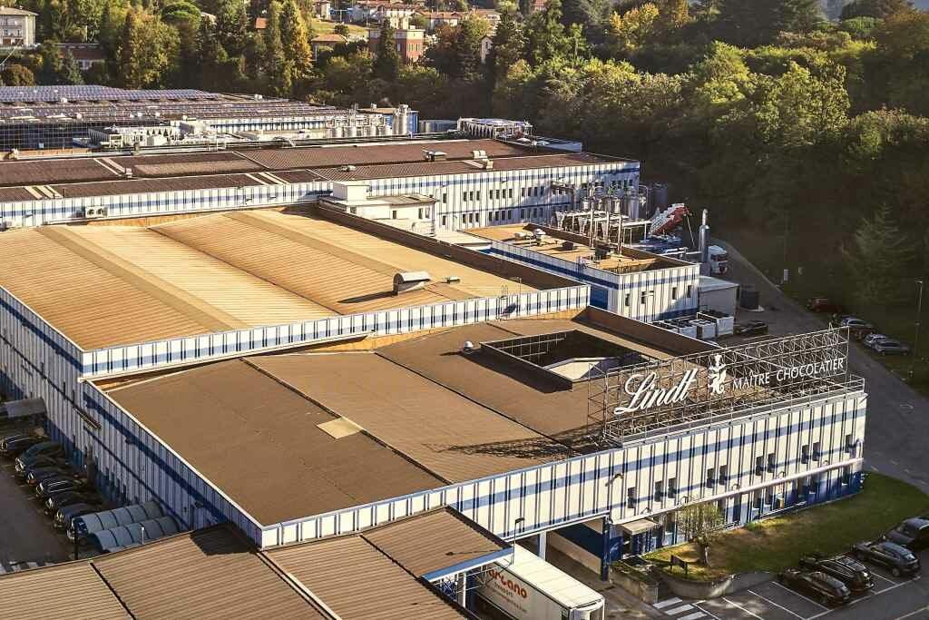 Fábrica da Lindt em Induno Olona