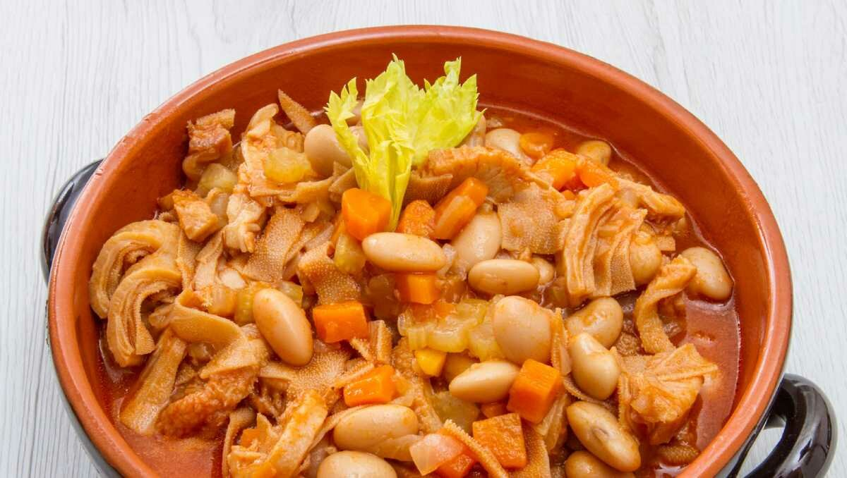 Trippa e Fagioli é uma receita muito consumida no Vêneto