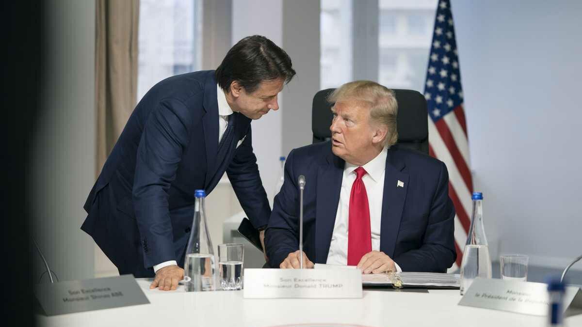 Em memorando, Trump ordena EUA ajudar a Itália do premiê Conte