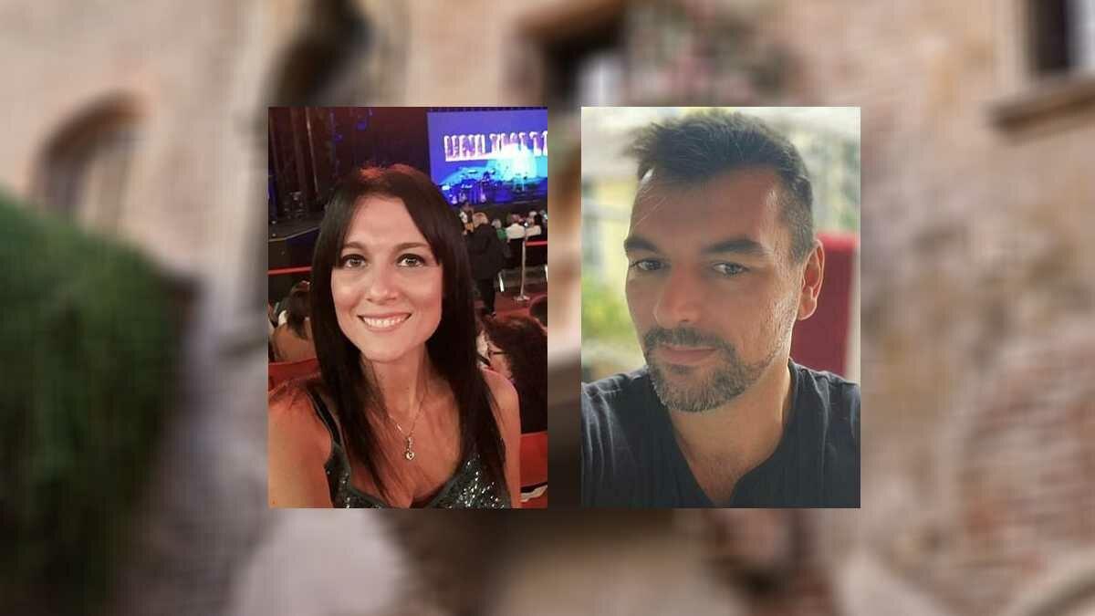 Casal italiano começa namoro após se conhecer na varanda