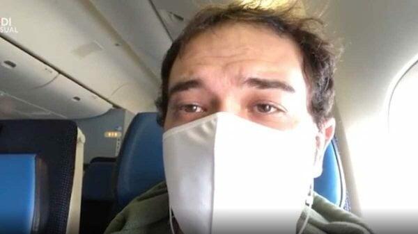 Em voo de repatriação, passageiro passa por 5 aeroportos em 4 países e relata o medo de contágio