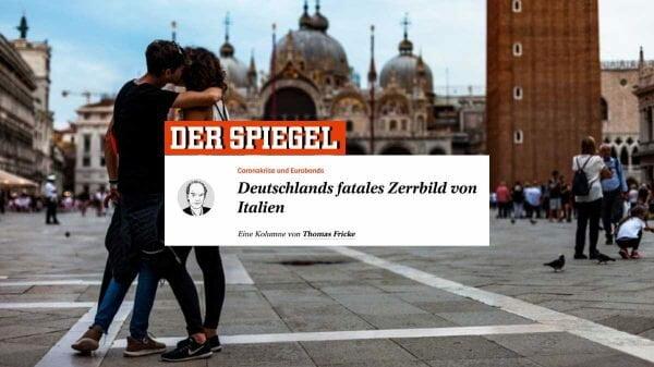 Der Spiegel: 'A fatal distorção alemã sobre a Itália'