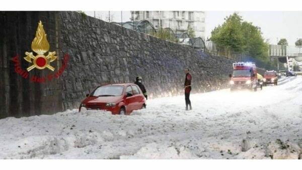Tempestade na Lombardia