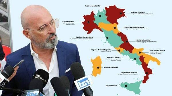 Redução no número de Regiões na Itália