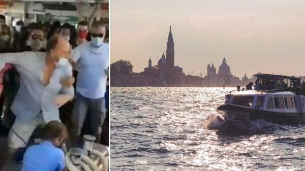Veneza barco covid