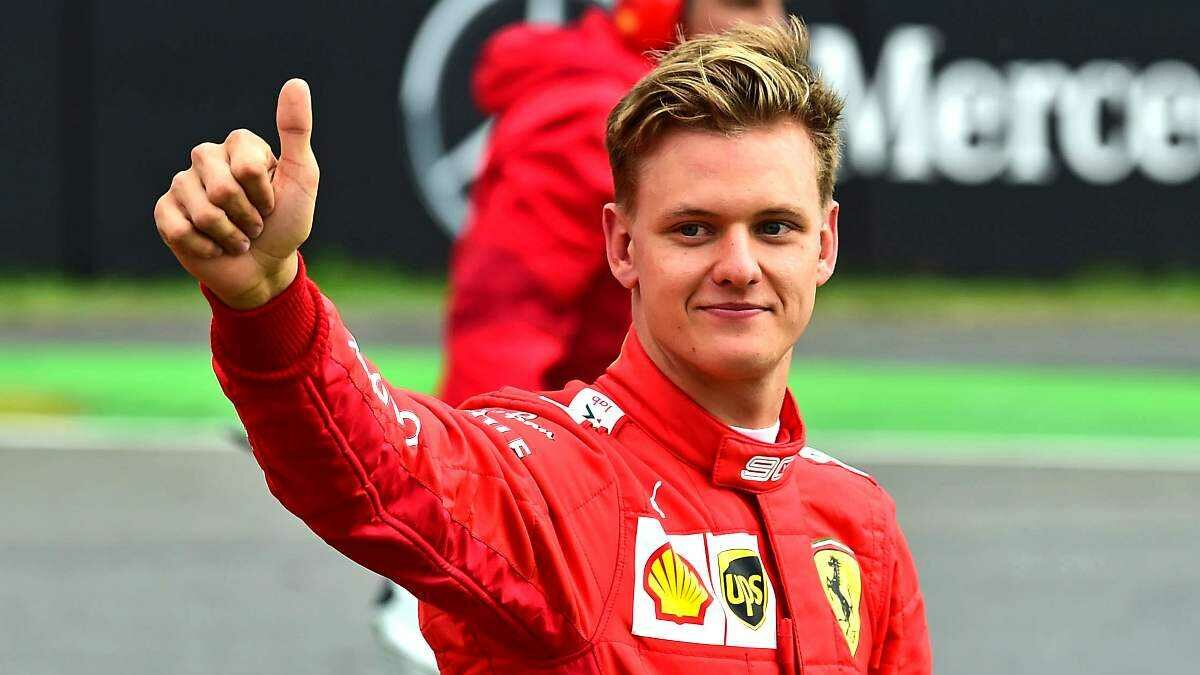 Filho de Schumacher na Ferrari