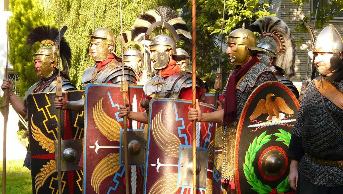 Tamanho do exército romano