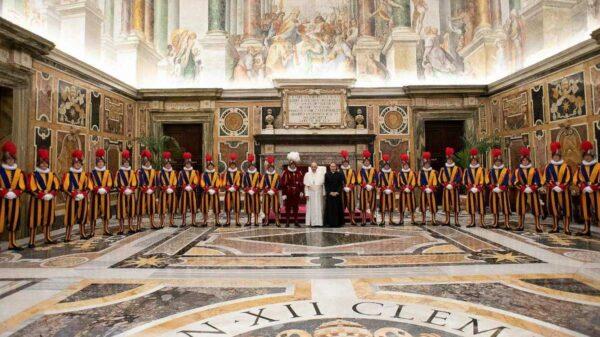 Guarda Vaticano Papa