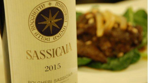 Salssicaia vinho italiano