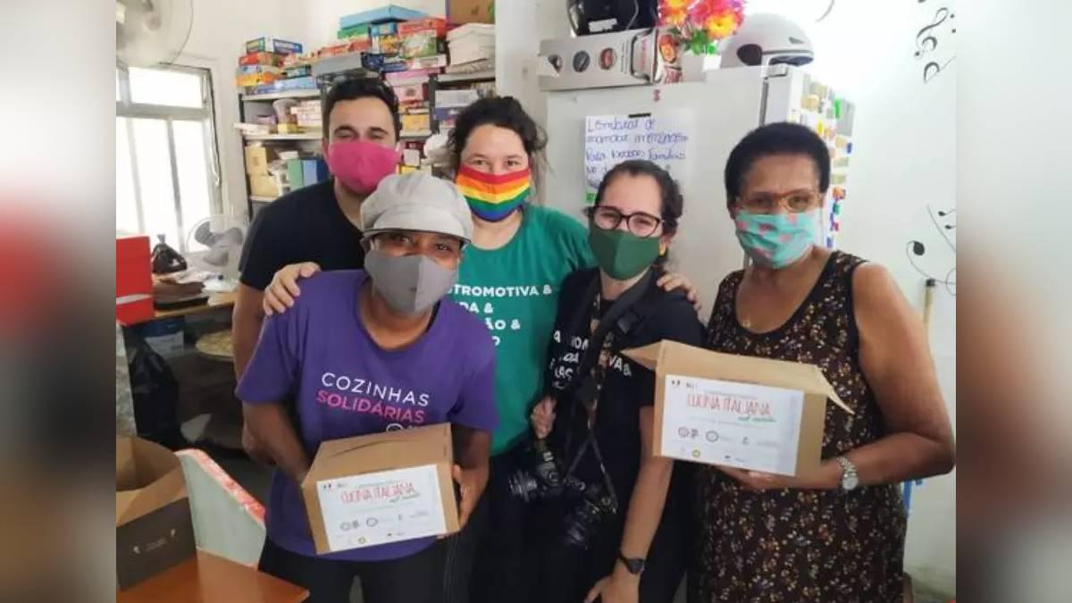 Consulado da Itália faz almoço beneficente na Rocinha