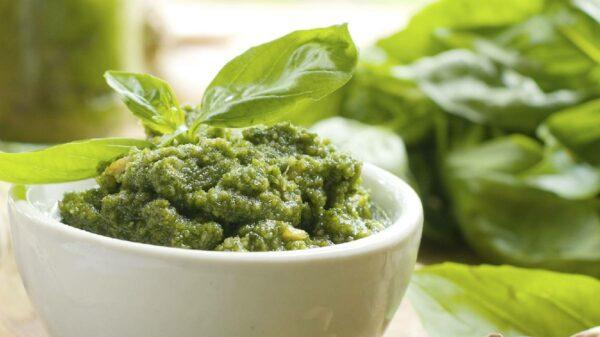Pesto caseiro: história ereceita tradicional italiana