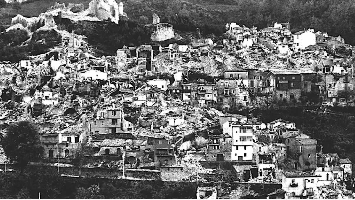 terremoto irpinia Itália