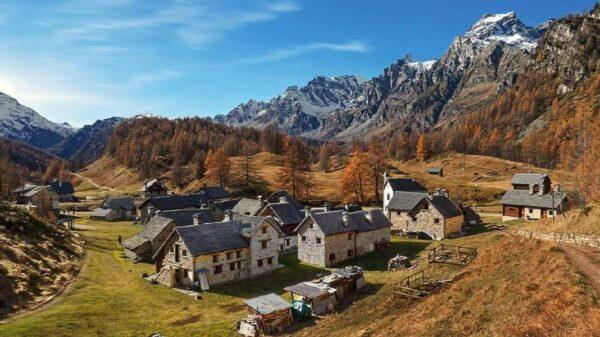 Vivendo nos Alpes: 10 vilas modelo no Piemonte