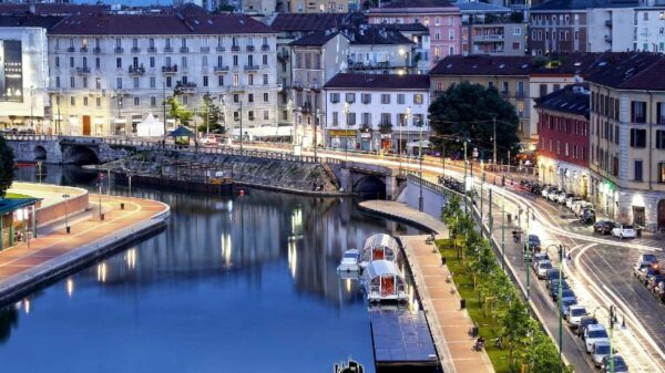 cidades canais italia