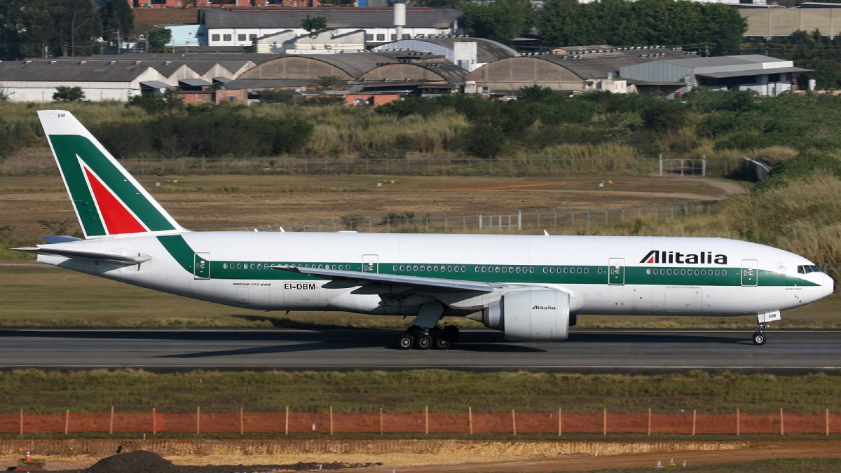 voo São Paulo roma