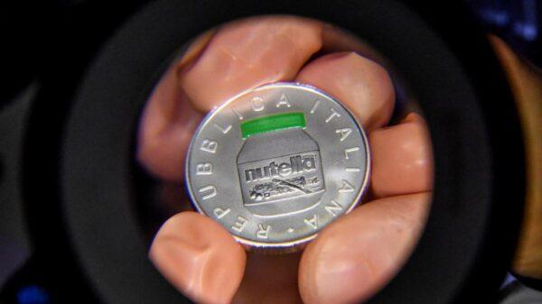 Itália moedas comemorativas