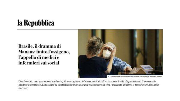 imprensa italiana saúde manaus