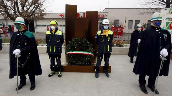 Codogno inaugura memorial