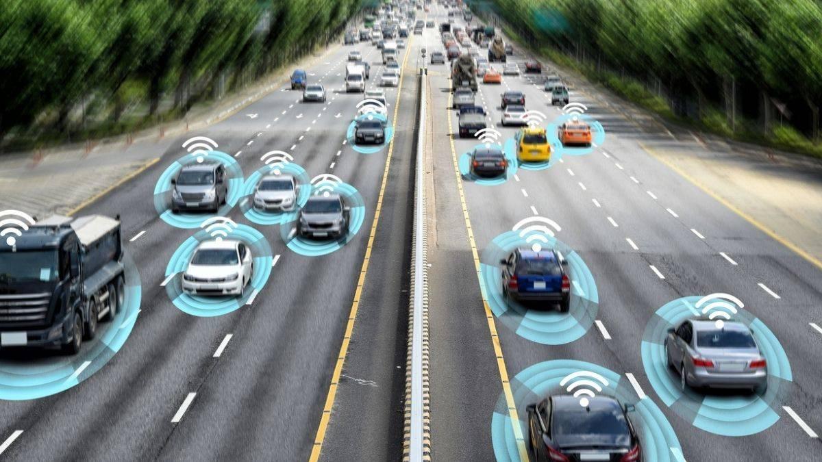 rodovia inteligente na Itália
