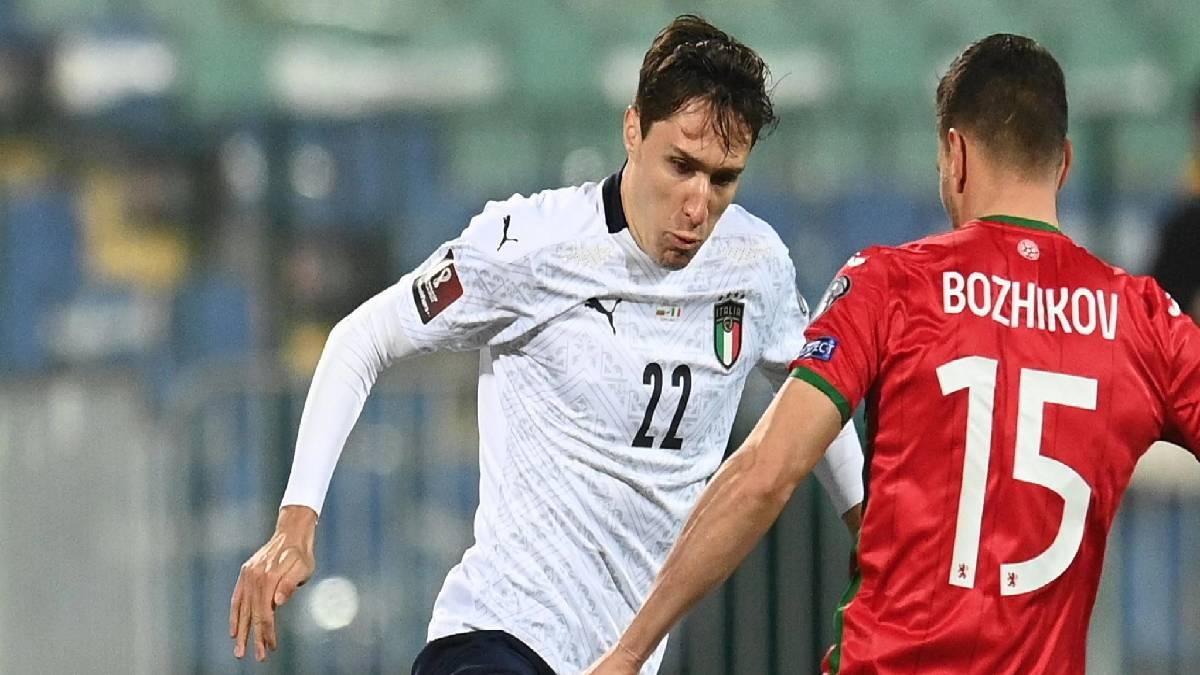 Itália derrota Bulgária