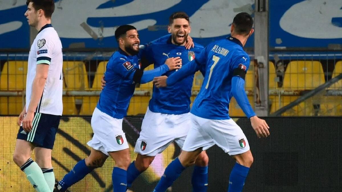 Itália vence Irlanda