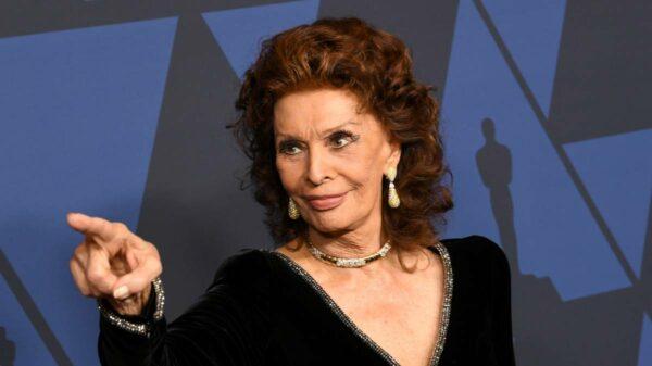 Sophia Loren oscar
