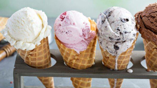 gelato na itália
