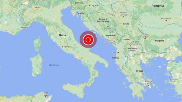 terremoto no sul da Itália
