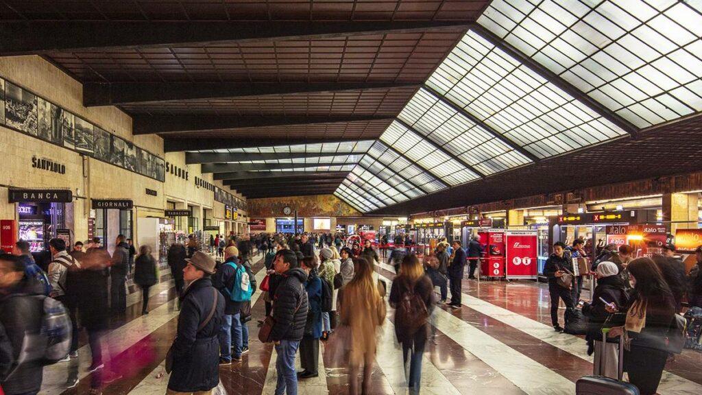 melhores estações ferroviárias da Itália