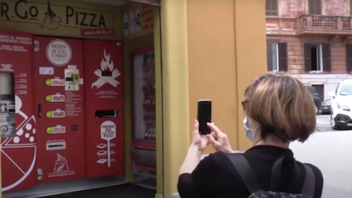 pizza automática