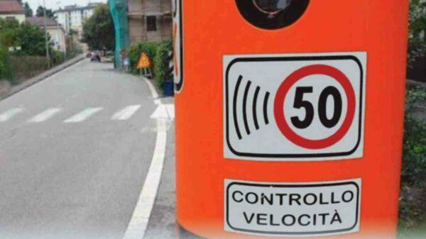 Itália radares velocidade