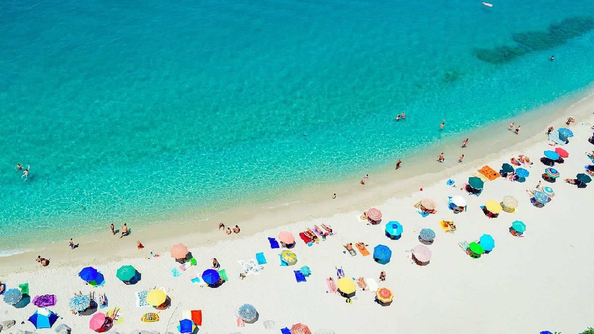 Verão no sul da Europa