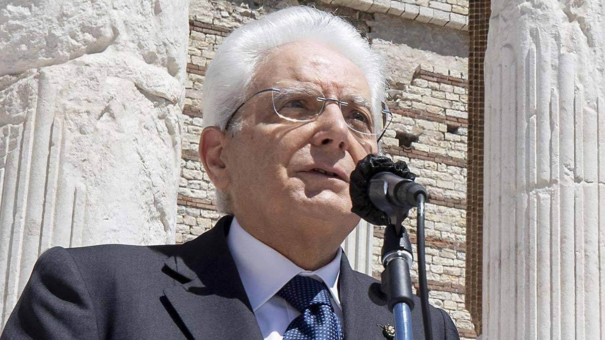 presidente da Itália matarella