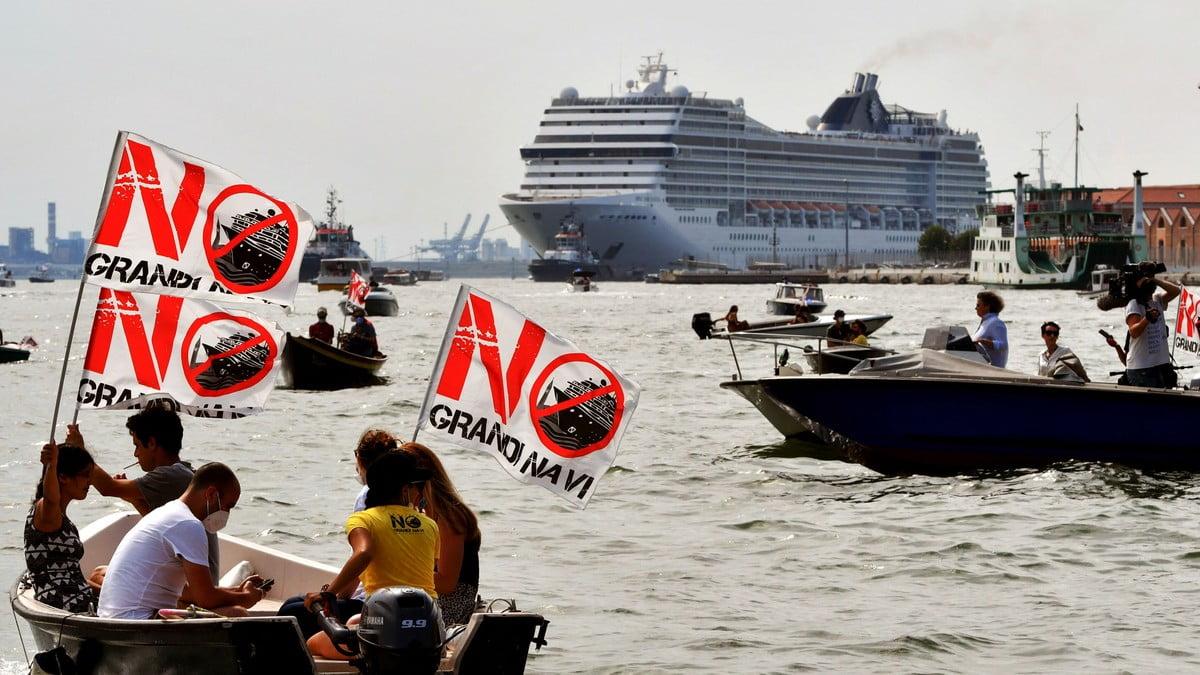 cruzeiro em Veneza