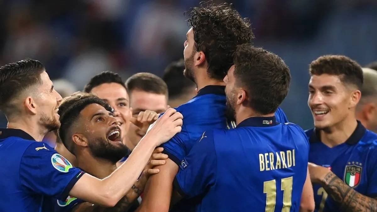 Itália x Espanha audiência