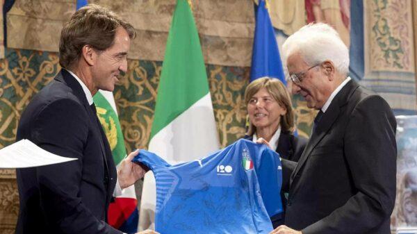 Presidente da Itália Eurocopa