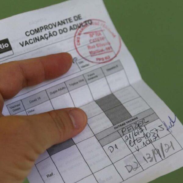 Certificado de vacinação do Brasil