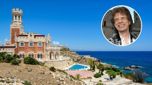 Mick Jagger casa na Sicília